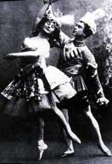 Анна Павлова и Вацлав Нижинский
